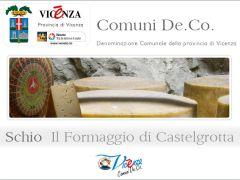 Formaggio di Castelgrotta - prodotto De.Co. di Schio