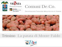 La patata Monte Faldo - De.Co. sovracomunale