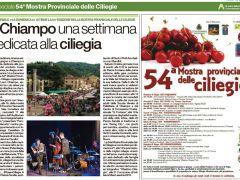 CHIAMPO: 54^ Mostra provinciale delle ciliegie