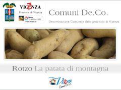 La patata - prodotto De.Co. di Rotzo