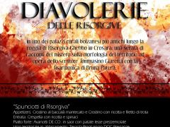 Le diavolerie delle risorgive  - Cena de.co.