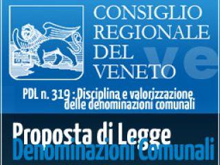 Istituzione delle denominazioni comunali (DE.CO)