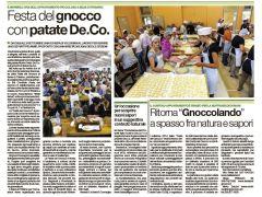 Festa del Gnocco con Patate De.Co.