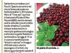"""""""Corniole""""protagoniste al Settembrecornedese"""
